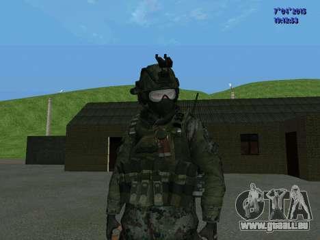 SWAT pour GTA San Andreas deuxième écran