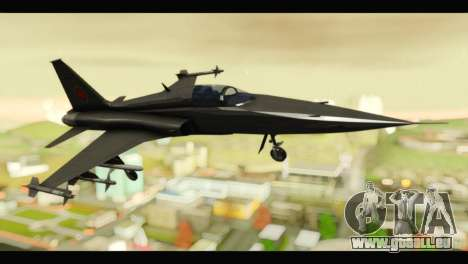 Northrop F-5E Top Gun für GTA San Andreas