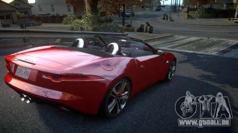 Jaguar F-Type v1.6 Release [EPM] für GTA 4 rechte Ansicht
