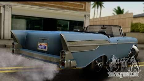GTA 5 Declasse Tornado IVF pour GTA San Andreas laissé vue