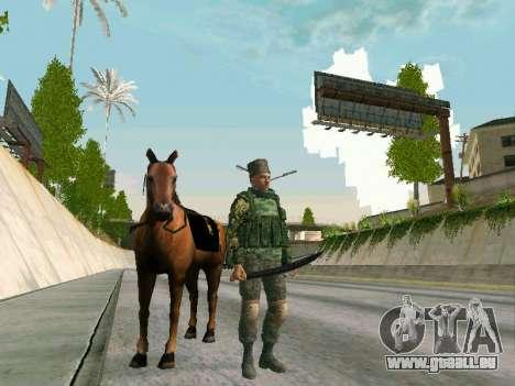 Shashka Kosaken für GTA San Andreas