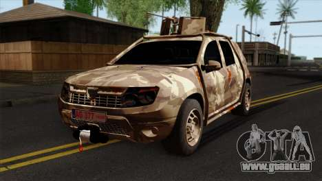 Dacia Duster Army Skin 4 für GTA San Andreas