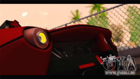 Ferrari LaFerrari 2014 pour GTA San Andreas vue de côté
