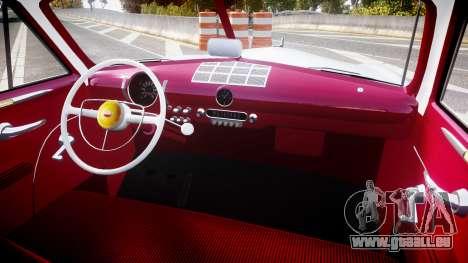 Ford Custom Club 1949 v2.2 pour GTA 4 Vue arrière
