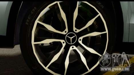 Mercedes-Benz GLA220 2014 für GTA San Andreas Rückansicht