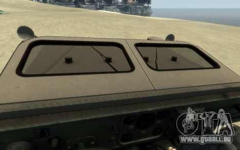 M1161 Growler für GTA 4 rechte Ansicht