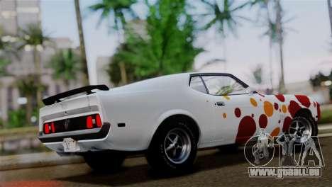 Ford Mustang Mach 1 429 Cobra Jet 1971 HQLM pour GTA San Andreas salon