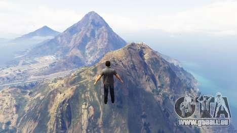 GTA 5 Noclip troisième capture d'écran