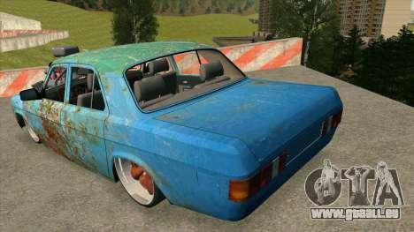 GAZ 31029 pour GTA San Andreas sur la vue arrière gauche