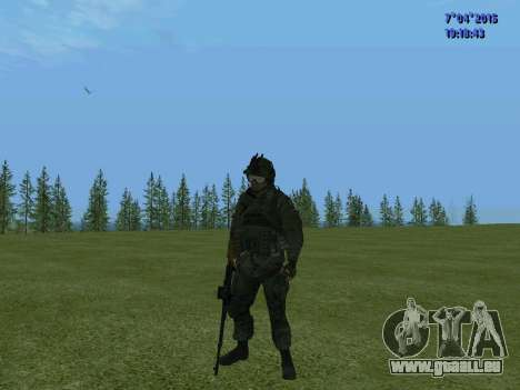 SWAT für GTA San Andreas siebten Screenshot