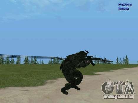 SWAT pour GTA San Andreas cinquième écran
