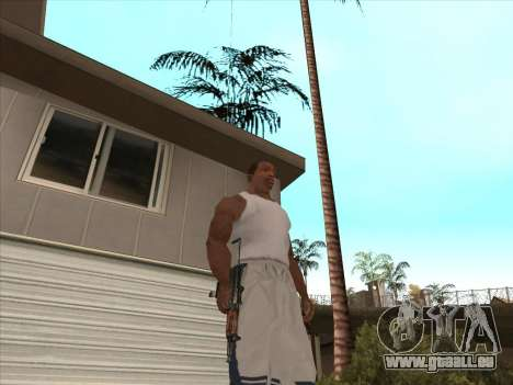 Russischen Maschinenpistolen für GTA San Andreas sechsten Screenshot