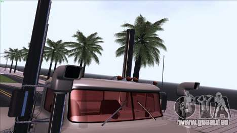 Mack RS700 Custom pour GTA San Andreas vue de dessus