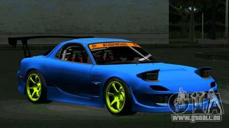 Mazda RX-7 FD3S Vertex pour GTA San Andreas