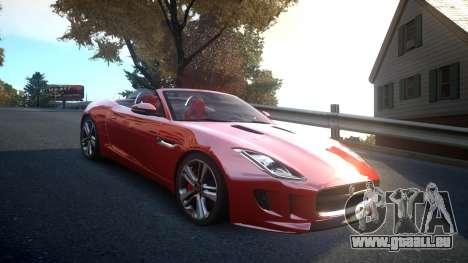 Jaguar F-Type v1.6 Release [EPM] für GTA 4 Innenansicht