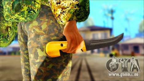 Shashka Cosaque pour GTA San Andreas troisième écran