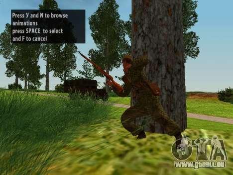 Les soldats de l'armée rouge pour GTA San Andreas neuvième écran