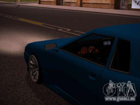 Elegy GunkinModding pour GTA San Andreas vue intérieure