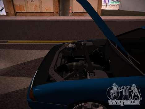 Elegy GunkinModding pour GTA San Andreas vue arrière