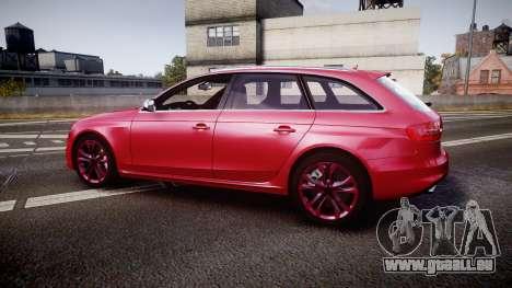 Audi S4 Avant 2013 für GTA 4 linke Ansicht