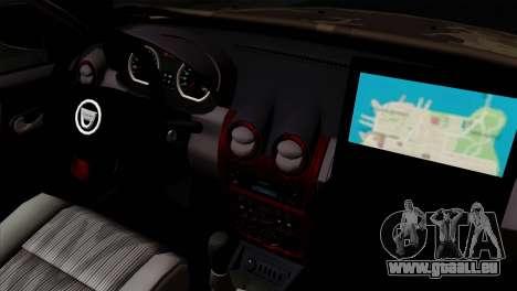 Dacia Duster Army Skin 4 für GTA San Andreas rechten Ansicht