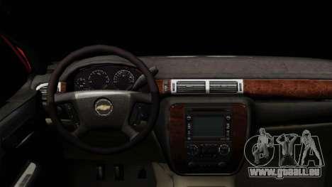 Chevrolet Silverado Tuning pour GTA San Andreas vue de droite