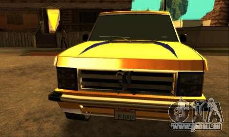Luni Huntley pour GTA San Andreas laissé vue