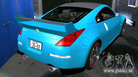 Nissan 350Z für GTA San Andreas rechten Ansicht