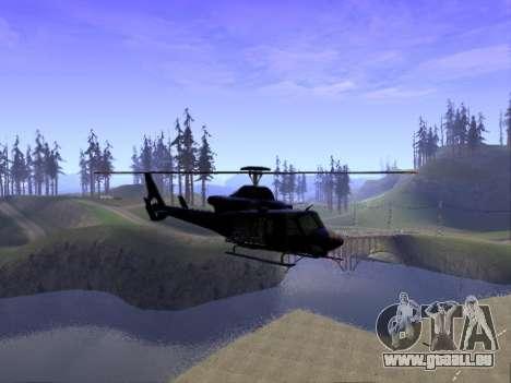 GTA 5 Valkyrie für GTA San Andreas linke Ansicht