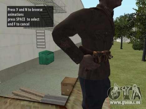 Kommissar Markov für GTA San Andreas her Screenshot