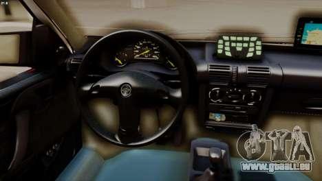 Chevrolet Corsa 2000 PMESP pour GTA San Andreas vue de droite