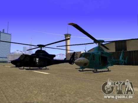 GTA 5 Valkyrie für GTA San Andreas Seitenansicht