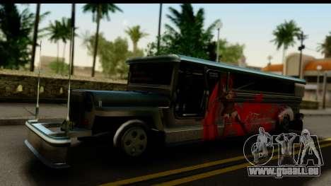 Patok Jeepney pour GTA San Andreas