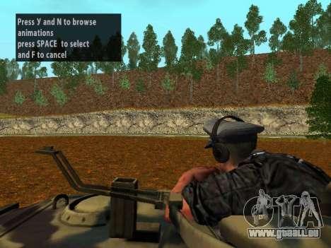 Deutsche Panzer-Kommandant für GTA San Andreas fünften Screenshot
