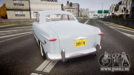 Ford Custom Club 1949 v2.2 pour GTA 4 Vue arrière de la gauche