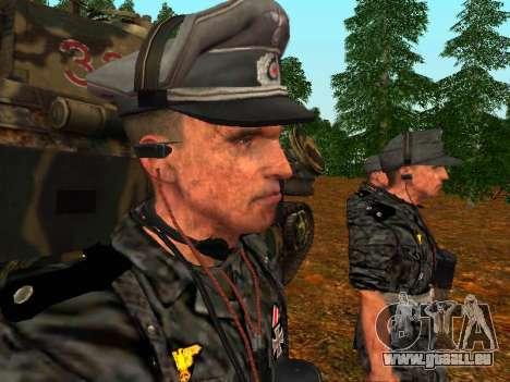 Allemande chef de char pour GTA San Andreas troisième écran