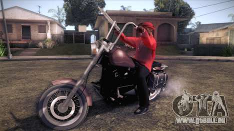Custom Chopper für GTA San Andreas