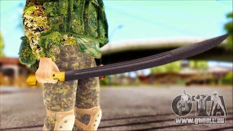 Shashka Cosaque pour GTA San Andreas deuxième écran