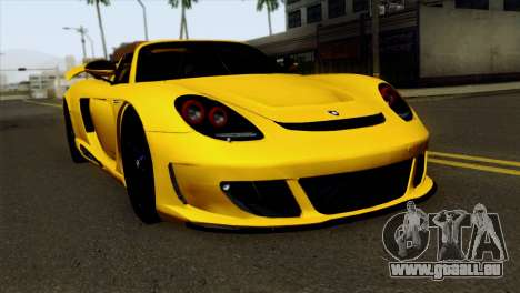 Gemballa Mirage GT v2 Windows Down für GTA San Andreas