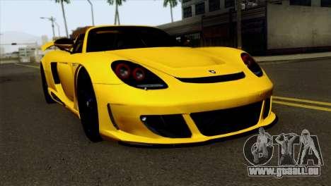 Gemballa Mirage GT v2 Windows Down für GTA San Andreas