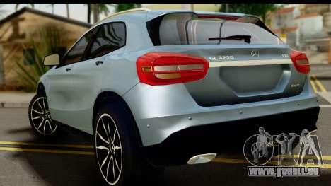 Mercedes-Benz GLA220 2014 für GTA San Andreas linke Ansicht