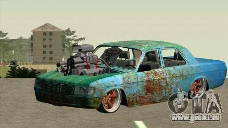 GAZ 31029 pour GTA San Andreas vue arrière