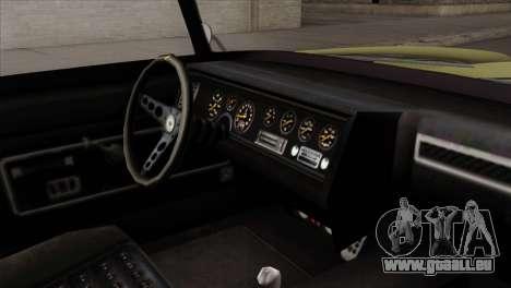 GTA 5 Lampadati Casco pour GTA San Andreas vue de droite