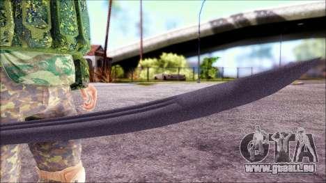 Shashka Cosaque pour GTA San Andreas quatrième écran