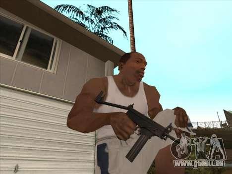 Russe des mitraillettes pour GTA San Andreas septième écran