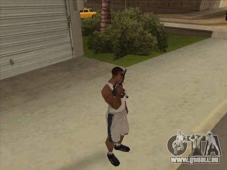Russe des mitraillettes pour GTA San Andreas quatrième écran