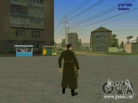 Felix Edmundovitch Dzerjinski pour GTA San Andreas quatrième écran