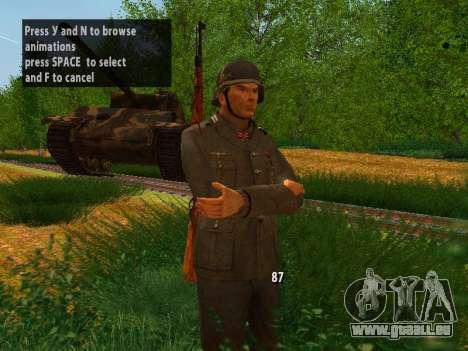 German soldiers für GTA San Andreas zweiten Screenshot