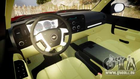 Chevrolet Silverado 1500 LT Extended Cab wheels2 für GTA 4 Rückansicht