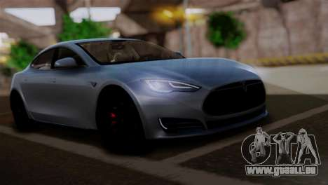 Tesla Model S 2014 für GTA San Andreas